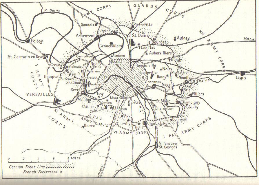 Maps Francoprussianwar Com History Of The Franco Prussian War